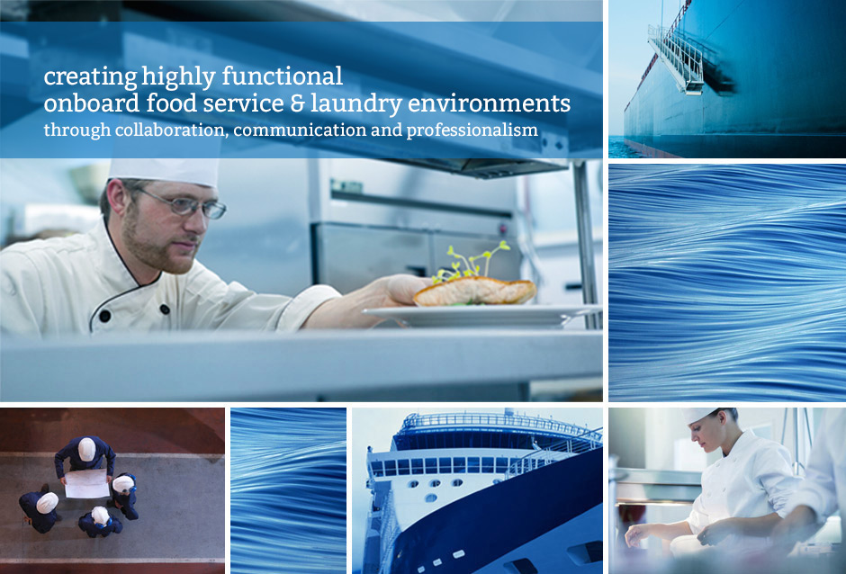 Creating highly functional onboard food service environments.